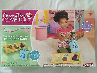 Playskool Cherry Blossom Produce Stand - Brand new & unused