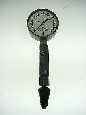 Vintage Snap On Tools Compression Tester