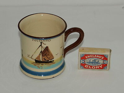ROYAL WATCOMBE TORQUAY POLPERRO FISHING BOAT MUG Up to the lipsAnd over the gums