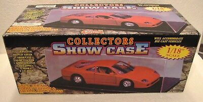 Model Display Case for 1/18 Scale Diecast Model Cars A Collectors Show Case
