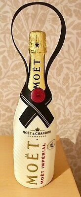 New Xmas Moet Chandon Imperial Champagne Bottle Cover Insulated Carrying Strap