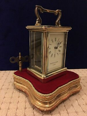 Antique Mappin & Webb London Carriage Clock 8 Days