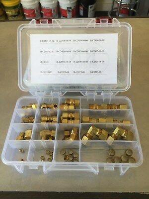 Brass Compression Fitting Kit