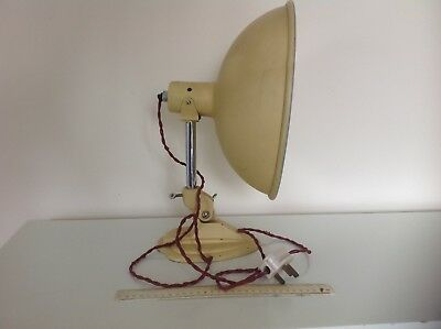 Retro Vintage Antique Industrial Ergon Radiaray easily rewired to desk lamp