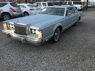 1978 Lincoln Mark Series  1978 Mark v