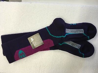 NWT Icebreaker kids  Merino Wool winter Long Socks for skiing, snow, sledding L