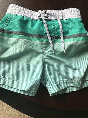CARTERS Baby Boy 18 Months  Board Shorts Bathing Suit