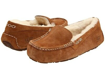 afa75fd1deb WOMEN'S SHOES UGG Ansley Moccasin Slippers 3312 Chestnut 5 6 7 8 9 10 11  *New*