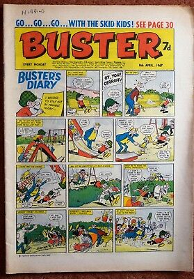 BUSTER - 8th April 1967