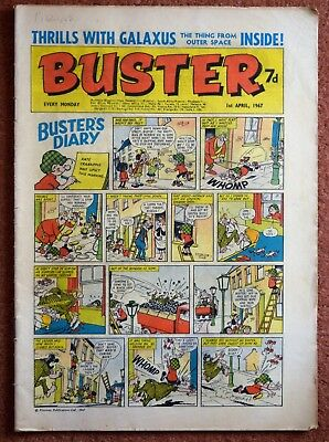 BUSTER - 1st April 1967