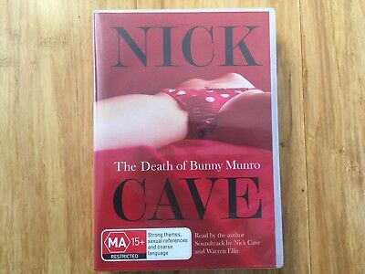 Nick Cave The Death Of Bunny Munro Audio