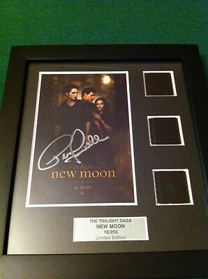 AUTOGRAPHED Twilight New Moon Framed Film Cell - PETER FACINELLI - DR CULLEN