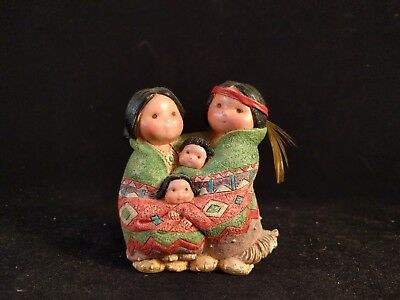 "Enesco Friends of the Feather Figurine ""People Of One Feather"""