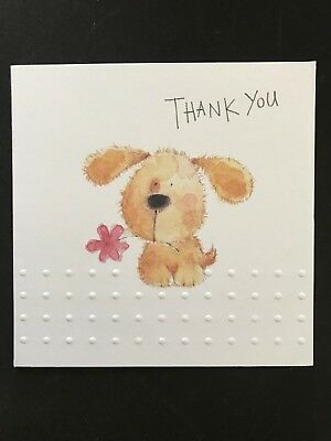 Thank You Cards. Beautiful. Puppy Dog. Job lot of 48