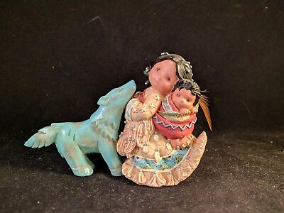 """1996 Enesco Friends of The Feather """"Little One to Lean On"""" #267732"""