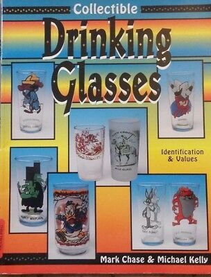 OLD ADVERTISING Drinking Glasses VALUE GUIDE COLLECTOR'S BOOK