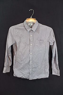 american eagle outfitters boys youth long sleeve dress shirt size s/p