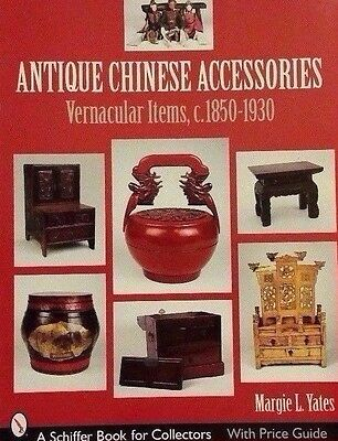 1850-1930 ANTIQUE CHINESE PRICE GUIDE COLLECTOR'S BOOK Basket Tub Puppet Abacus
