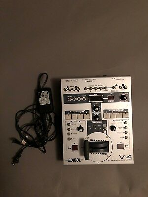 Edirol V-4 4 Channel Video Mixer Switcher - with Power Supply