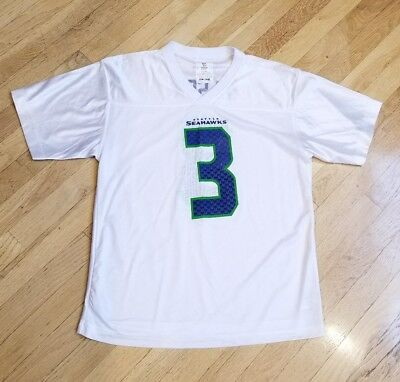 check out 408c3 eb529 YOUTH SEATTLE SEAHAWKS Wilson XL (18/20) Jersey #3 NFL Team ...