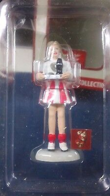 Vtg Coca Cola Town Square Collection Server Waitress Xmas Hand Crafted Holiday