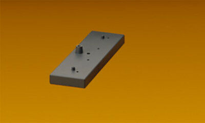 LGB - 50611 - Bridge Mounting Piers, 2 pcs - G Scale 1:22.5