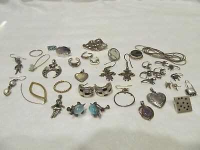 88 Grams Sterling Silver Jewelry Most Is Scrap