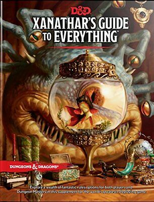 Xanathar's Guide to Everything by Wizards RPG Team [Hardcover]