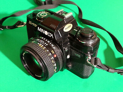 Minolta X-700 Mps 35Mm - Film Camera W/ 50Mm 1.7 Minolta Lens & Strap