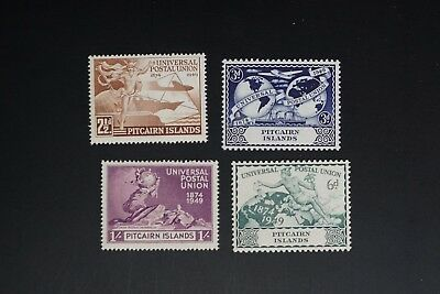 Pitcairn Islands #13-6 1949 KGVI upu set VF MNH cv$44.00 (v434)