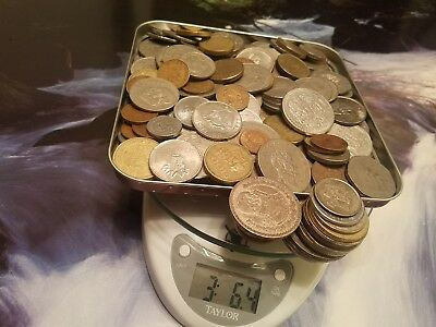 Pounds Of Coins - Junk Drawer Lot! World Coins - With World Silver Coins!