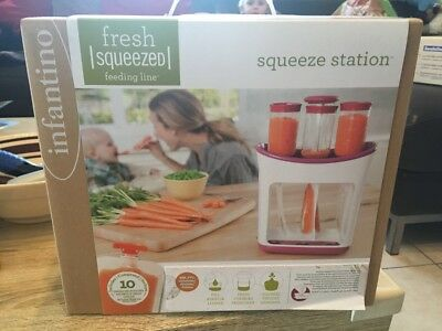 Infantino Squeeze Station + 50 Beutel