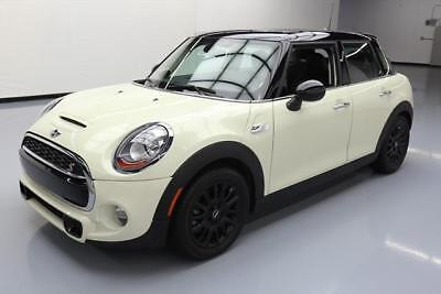 2015 Mini Cooper S Hatchback 4-Door 2015 MINI COOPER S TURBOCHARGED AUTOMATIC PANO ROOF 25K #B66531 Texas Direct