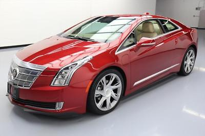 2014 Cadillac ELR Base Coupe 2-Door 2014 CADILLAC ELR COUPE HYBRID NAV HTD LEATHER 20'S 23K #601837 Texas Direct