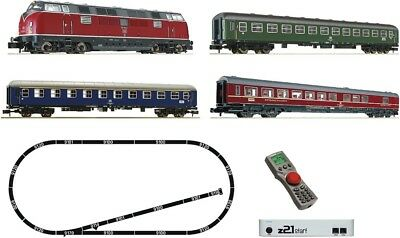 FLEISCHMANN - 931781 - STARTER SET Z21 Digital Diesel Loco BR 221 and 3 CoachesD