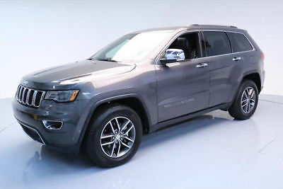 2017 Jeep Grand Cherokee Limited Sport Utility 4-Door 2017 JEEP GRAND CHEROKEE LTD PANO NAV VENT LEATHER 21K #636133 Texas Direct Auto