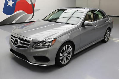 2014 Mercedes-Benz E-Class Base Sedan 4-Door 2014 MERCEDES-BENZ E350 SPORT P1 SUNROOF NAVIGATION 49K #954531 Texas Direct