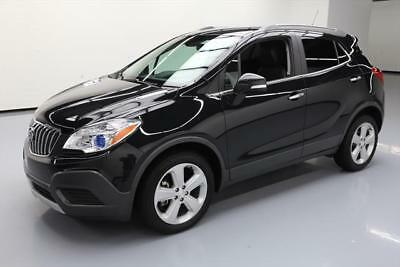 2016 Buick Encore Base Sport Utility 4-Door 2016 BUICK ENCORE TURBO REAR CAM BLUETOOTH ALLOYS 10K #668344 Texas Direct Auto