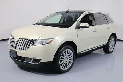 2014 Lincoln MKX  2014 LINCOLN MKX PANO ROOF CLIMATE LEATHER 20'S 20K MI #L02184 Texas Direct Auto