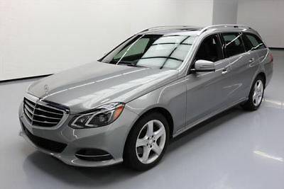 2014 Mercedes-Benz E-Class 4Matic Wagon 4-Door 2014 MERCEDES-BENZ E350 LUX WAGON AWD P1 7-PASS NAV 16K #782497 Texas Direct