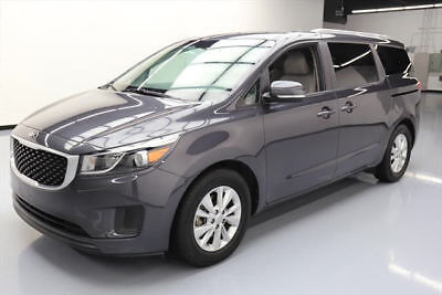 2016 Kia Sedona LX Mini Passenger Van 4-Door 2016 KIA SEDONA LX HTD SEATS REAR CAM POWER DOORS 44K #101051 Texas Direct Auto
