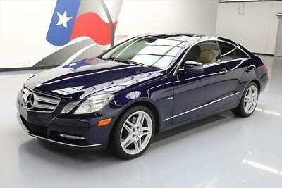 2012 Mercedes-Benz E-Class Base Coupe 2-Door 2012 MERCEDES-BENZ E350 COUPE P1 PANO ROOF NAV 61K MI #141756 Texas Direct Auto