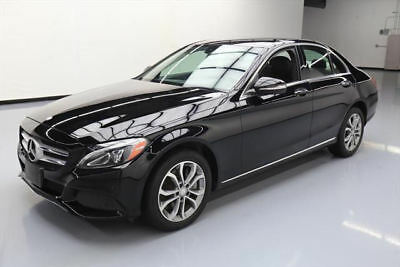 2015 Mercedes-Benz C-Class 4Matic Sedan 4-Door 2015 MERCEDES-BENZ C300 PREMIUM AWD NAV REAR CAM 22K MI #004130 Texas Direct