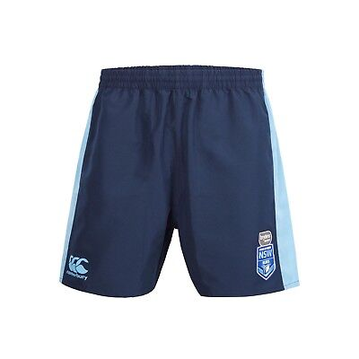 New South Wales Blues Origin CCC 2018 Panel Tactic Shorts Adult and Kids Sizes