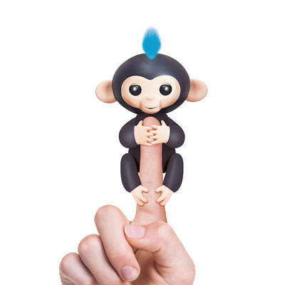 Monkey Electronic Finger Monkeys Colorful Fingers Smart Glow Sound Toys Black