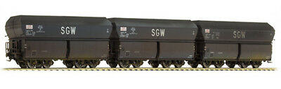 BRAWA - 47032 - H0 Coal Car Oot SNCF, III [set of 3] weathered (HO SCALE)