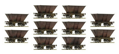 Brawa - 45900 - Ho 10 Coal Car Drg Set (Ho Scale)