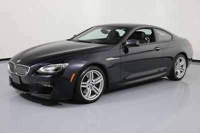 2014 BMW 6-Series Base Coupe 2-Door 2014 BMW 650I XDRIVE COUPE AWD M-SPORT SUNROOF NAV HUD! #325129 Texas Direct