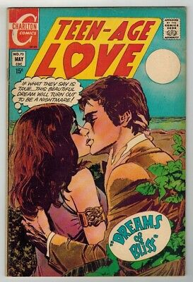 Teen-Age Love #70 - Art Cappello Art & Cover - Charlton Comics/1970