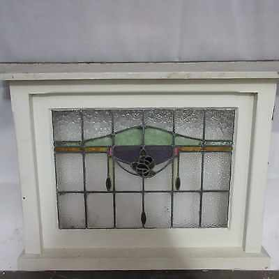LEADLIGHT PICTURE WINDOW X 1 – ORIGINAL FROM FEDERATION HOME, 92m